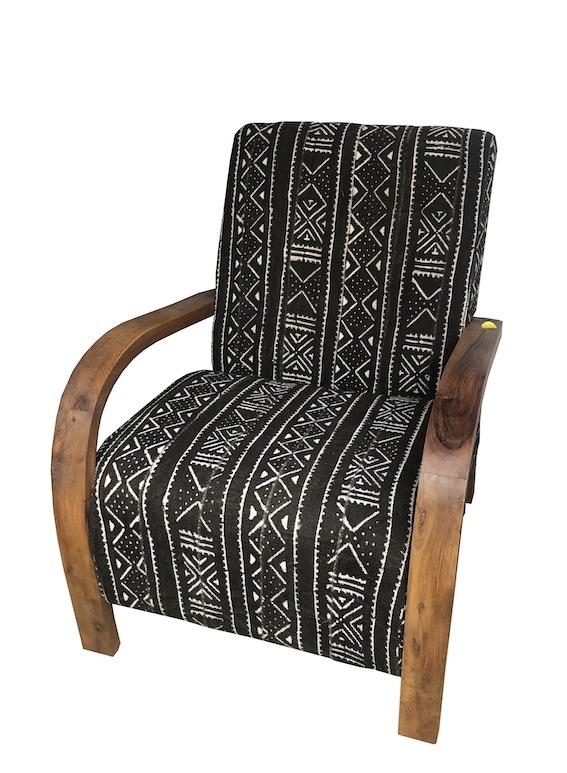 fauteuil Bogolan